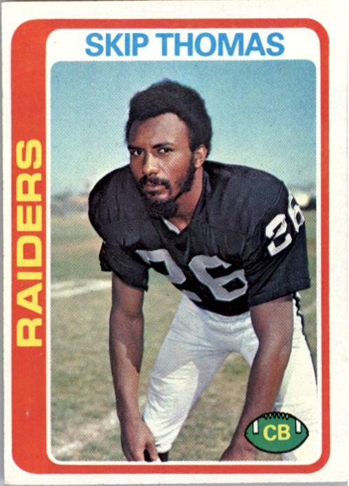 1978 Topps #8 Skip Thomas RC