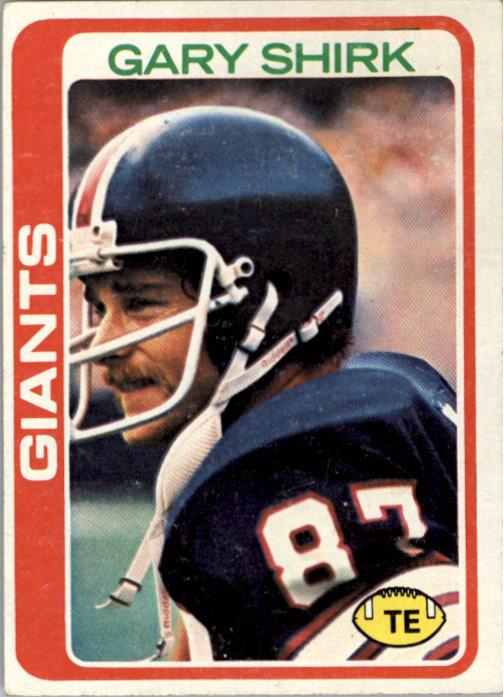 1978 Topps #54 Gary Shirk RC