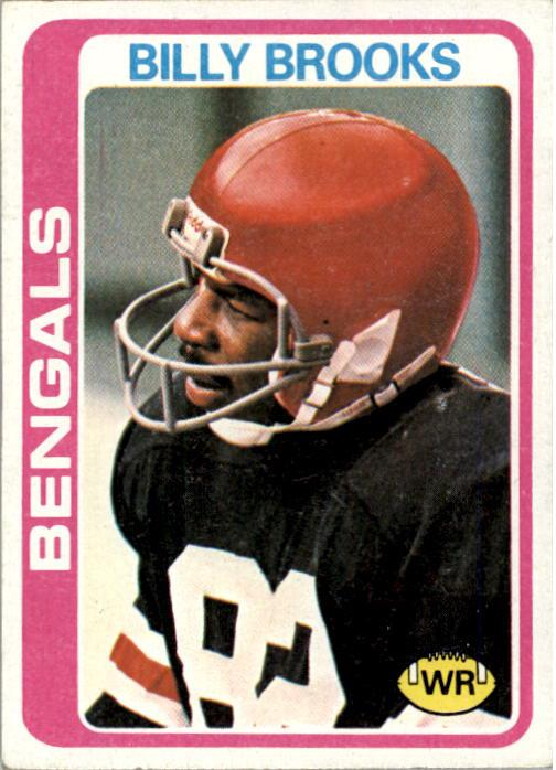 1978 Topps #74 Billy Brooks RC