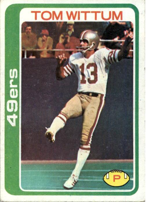 1978 Topps #77 Tom Wittum