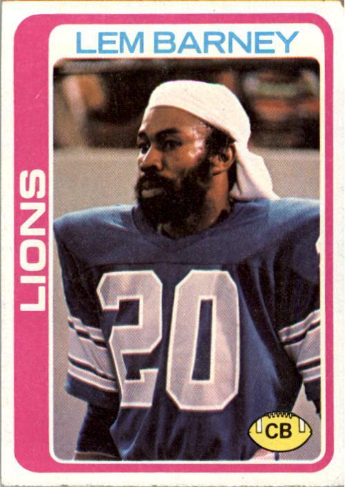 1978 Topps #82 Lem Barney