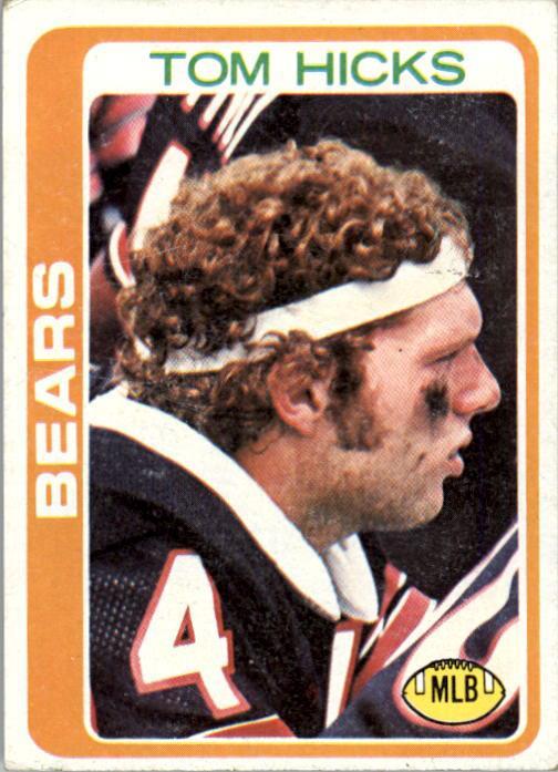 1978 Topps #92 Tom Hicks RC