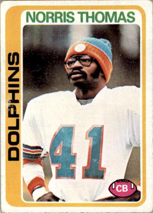1978 Topps #96 Norris Thomas RC