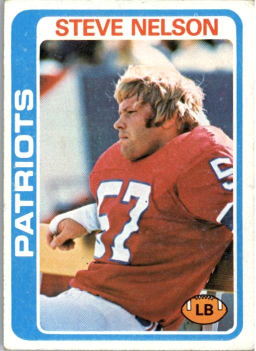 1978 Topps #116 Steve Nelson RC