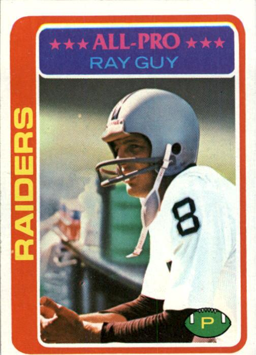 1978 Topps #260 Ray Guy AP
