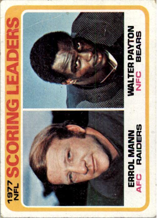 1978 Topps #334 W.Payton/E.Mann LL