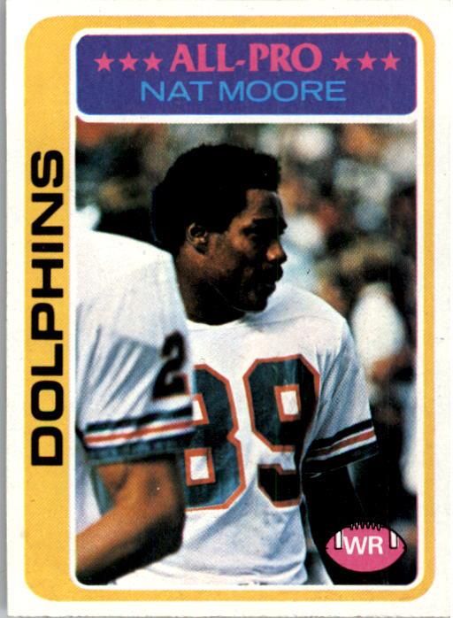 1978 Topps #440 Nat Moore AP