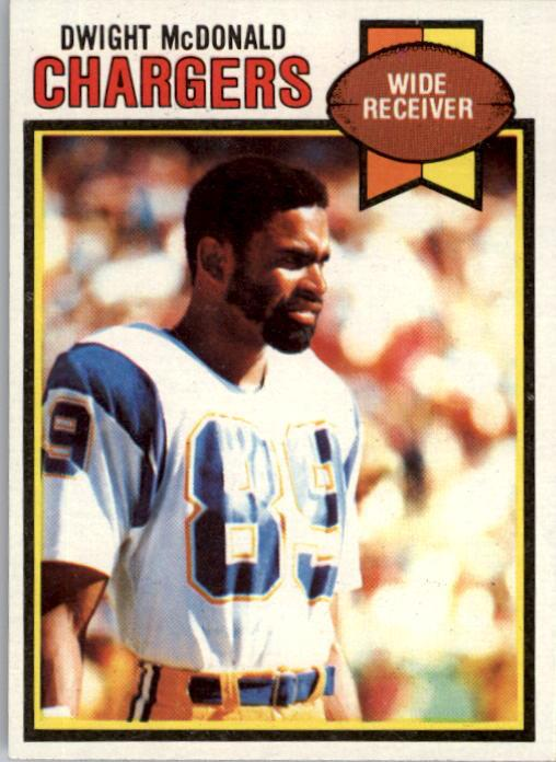 1979 Topps #17 Dwight McDonald RC