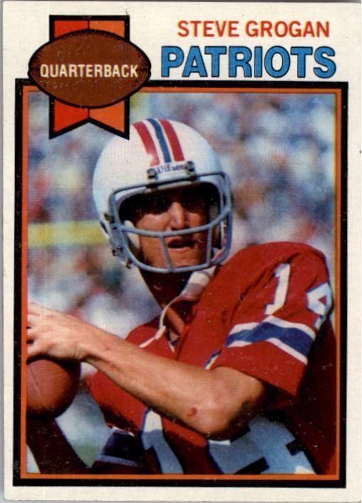 1979 Topps #95 Steve Grogan