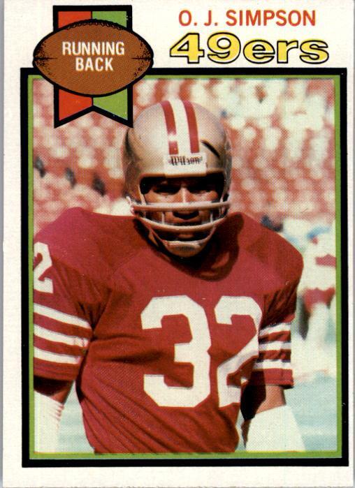 1979 Topps #170 O.J. Simpson