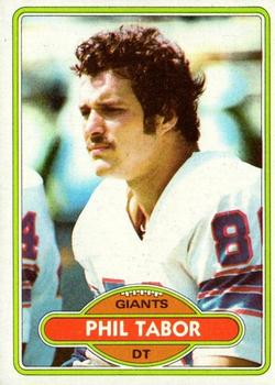 1980 Topps #14 Phil Tabor RC