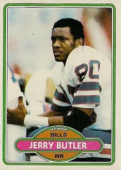 1980 Topps #36 Jerry Butler RC