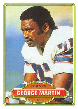 1980 Topps #55 George Martin RC