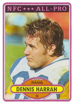 1980 Topps #60 Dennis Harrah RC