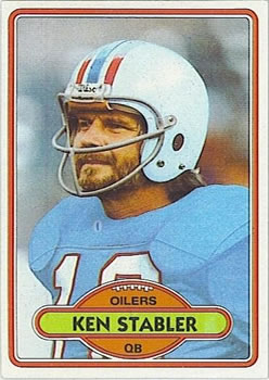 1980 Topps #65 Ken Stabler