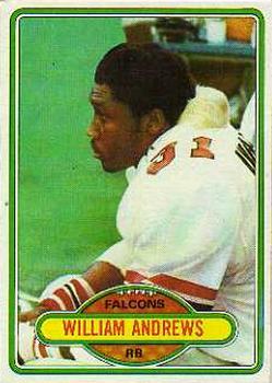 1980 Topps #73 William Andrews RC