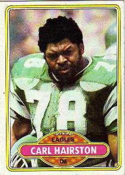 1980 Topps #92 Carl Hairston RC