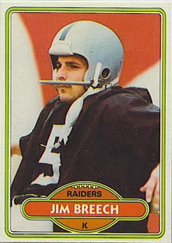 1980 Topps #107 Jim Breech RC