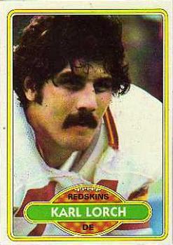 1980 Topps #124 Karl Lorch RC