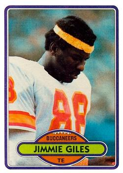 1980 Topps #131 Jimmie Giles RC