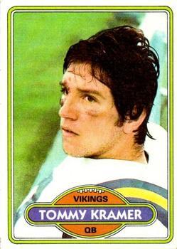 1980 Topps #138 Tommy Kramer RC