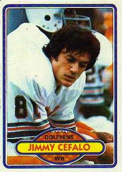 1980 Topps #158 Jimmy Cefalo RC