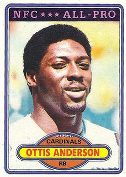 1980 Topps #170 Ottis Anderson RC