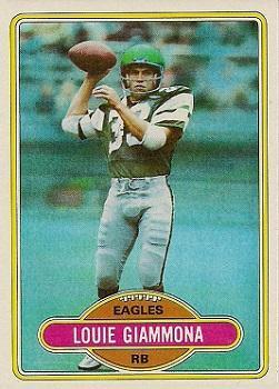 1980 Topps #199 Louie Giammona RC