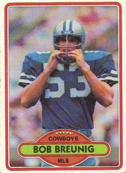 1980 Topps #204 Bob Breunig RC