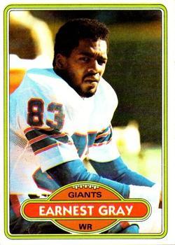 1980 Topps #206 Earnest Gray RC