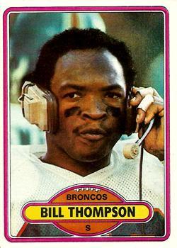 1980 Topps #212 Bill Thompson