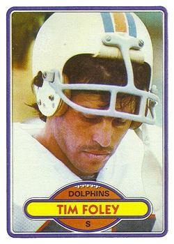 1980 Topps #221 Tim Foley