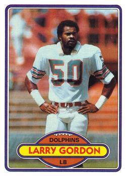 1980 Topps #242 Larry Gordon