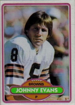 1980 Topps #279 Johnny Evans