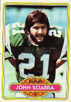 1980 Topps #397 John Sciarra RC