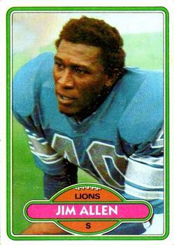 1980 Topps #409 Jim Allen