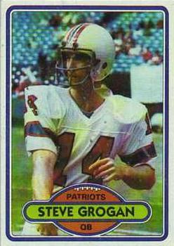 1980 Topps #435 Steve Grogan
