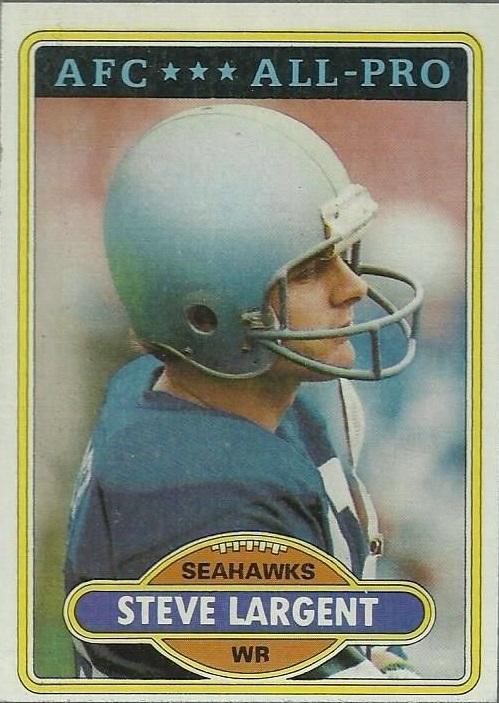 1980 Topps #450 Steve Largent AP