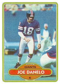 1980 Topps #454 Joe Danelo
