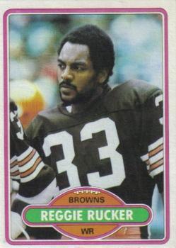 1980 Topps #458 Reggie Rucker