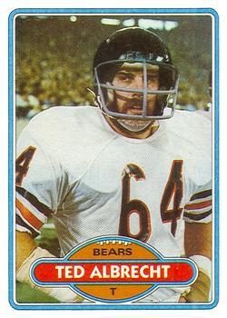 1980 Topps #519 Ted Albrecht