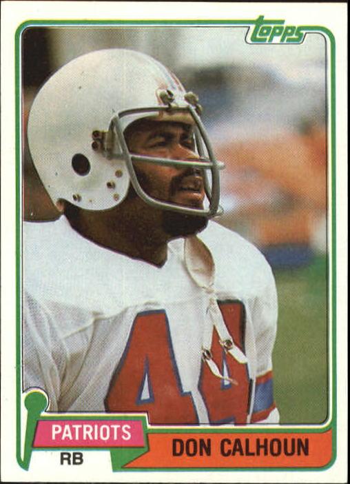 1981 Topps #7 Don Calhoun