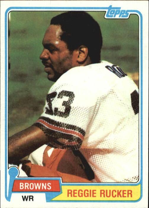 1981 Topps #9 Reggie Rucker