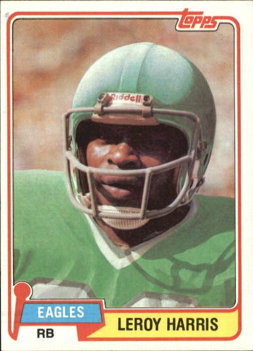 1981 Topps #13 Leroy Harris