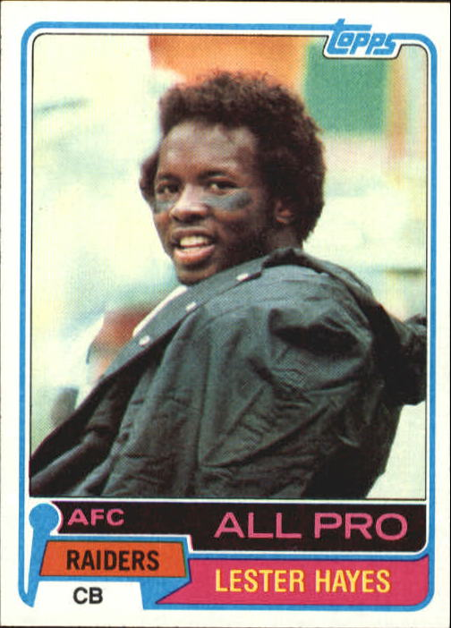1981 Topps #20 Lester Hayes AP