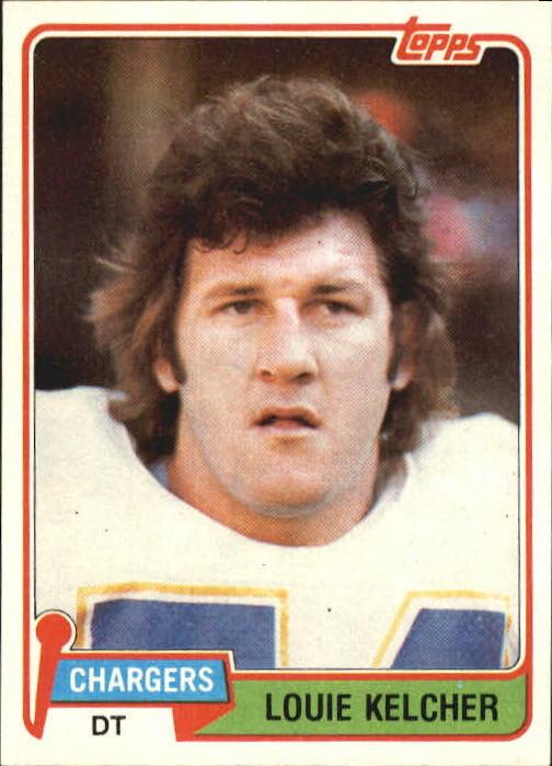 1981 Topps #23 Louie Kelcher