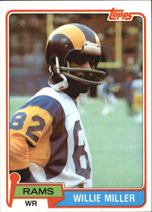 1981 Topps #24 Willie Miller