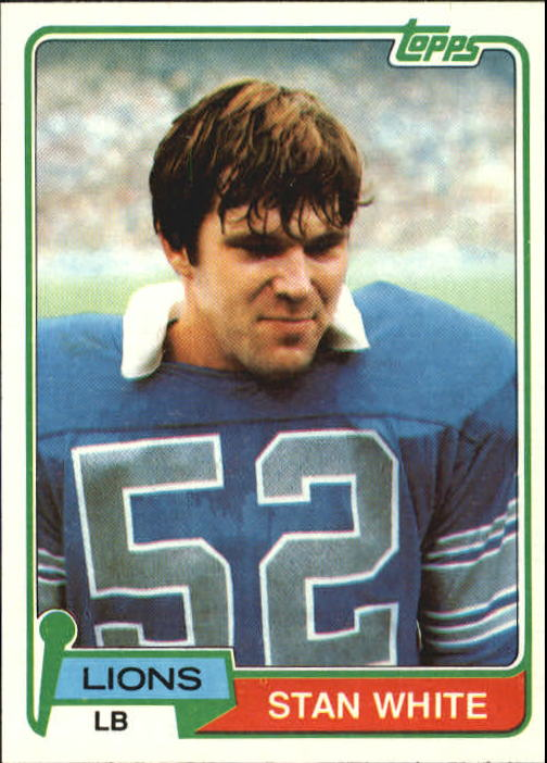 1981 Topps #27 Stan White
