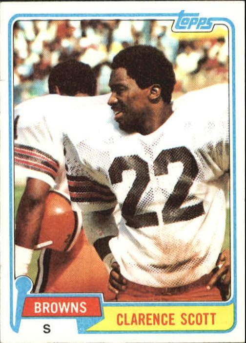 1981 Topps #29 Clarence Scott