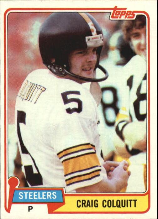 1981 Topps #31 Craig Colquitt